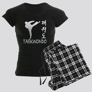 taekwondo(blk) Women's Dark Pajamas