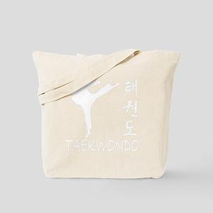 taekwondo(blk) Tote Bag