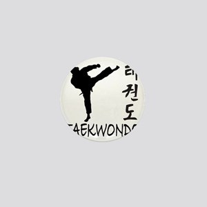 taekwondo Mini Button