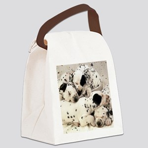 Dalmation sm fr pan print Canvas Lunch Bag