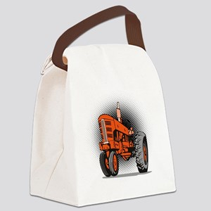 NX_tractor_front view_wkng_HALFTO Canvas Lunch Bag