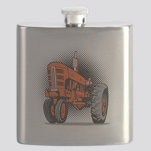 NX_tractor_front view_wkng_HALFTONE Flask