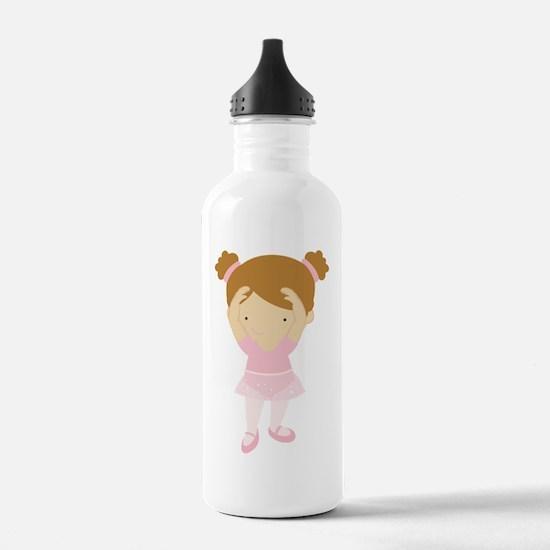 ZWD_BalletGirl02a Water Bottle