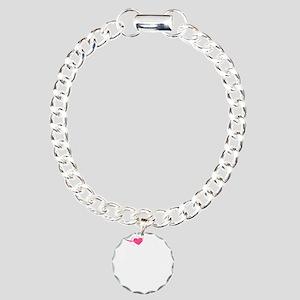 Heart Twilight Mom -dk Charm Bracelet, One Charm