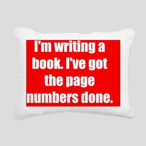 Wright_book_rect1 Rectangular Canvas Pillow