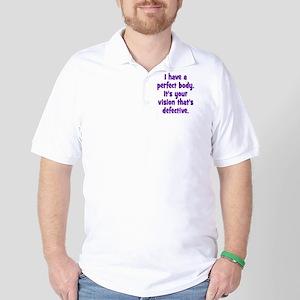 perfect_body_rnd Golf Shirt