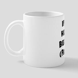 Wright_parentheses_blk Mug