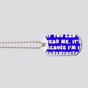 Wright_parentheses_rect2 Dog Tags