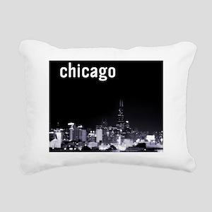 2-Chicago_10x10 Rectangular Canvas Pillow