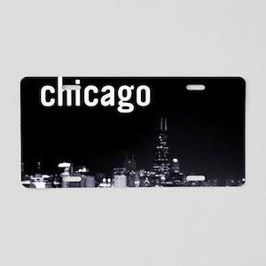 Chicago_11x17 Aluminum License Plate