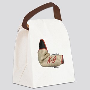 Sleeve certified K9 decoy (light) Canvas Lunch Bag