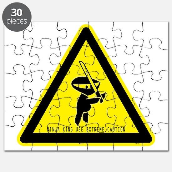 ninjacautionsign Puzzle