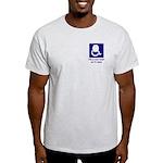 Brain on TV News Ash Grey T-Shirt
