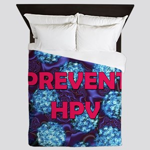 Prevent HPV 5c copy Queen Duvet
