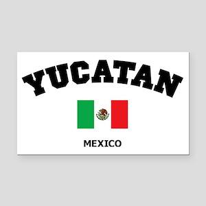 Yucatan Rectangle Car Magnet