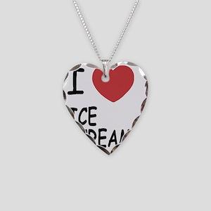ICE_CREAM Necklace Heart Charm