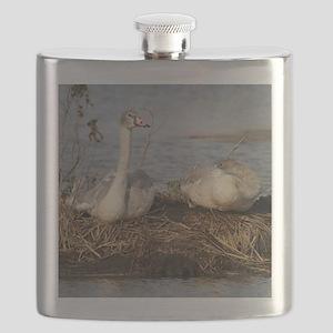 Trumpeter Swan MP Flask