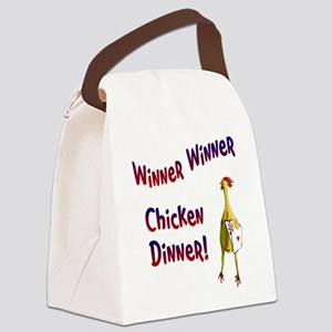 chickendinner1 Canvas Lunch Bag