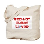 Red-Hot Cuban Lover Tote Bag