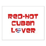 Red-Hot Cuban Lover Small Poster