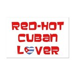 Red-Hot Cuban Lover Mini Poster Print