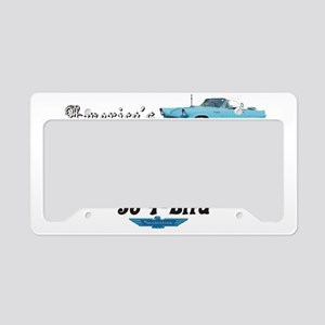 56 T Birds License Plate Holder