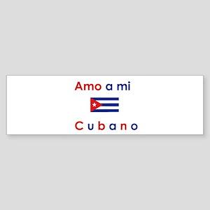 Amo a mi Cubano. Bumper Sticker