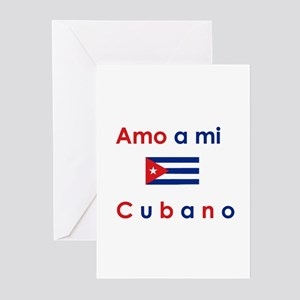Amo a mi Cubano. Greeting Cards (Pk of 10)