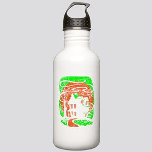 Haunted-House-Distress Stainless Water Bottle 1.0L