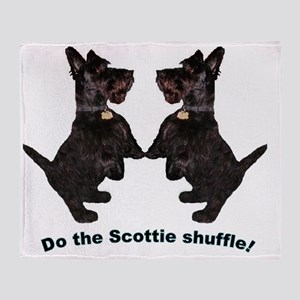 Scottie Shuffle Throw Blanket
