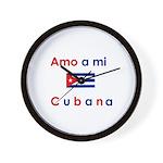 Amo a mi Cubana. Wall Clock
