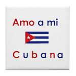 Amo a mi Cubana. Tile Coaster
