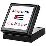 Amo a mi Cubana. Keepsake Box