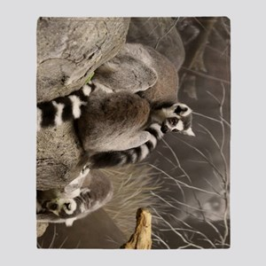 RingTailedLemur 16x20 Throw Blanket