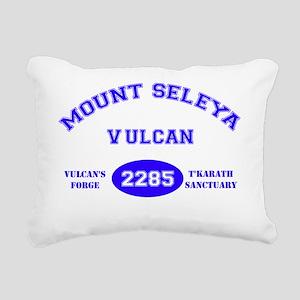 startrek mt seleya Rectangular Canvas Pillow