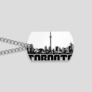 Toronto Skyline Dog Tags