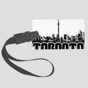 Toronto Skyline Large Luggage Tag