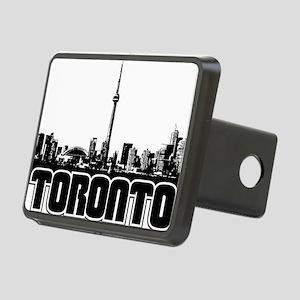 Toronto Skyline Rectangular Hitch Cover