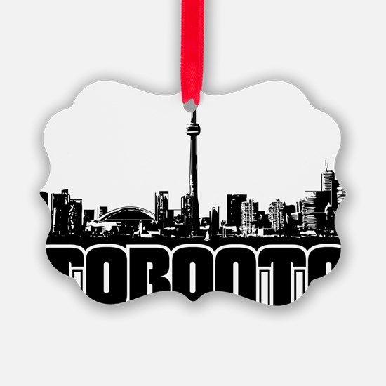Toronto Skyline Ornament