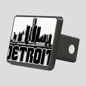 Detroit Skyline Rectangular Hitch Cover