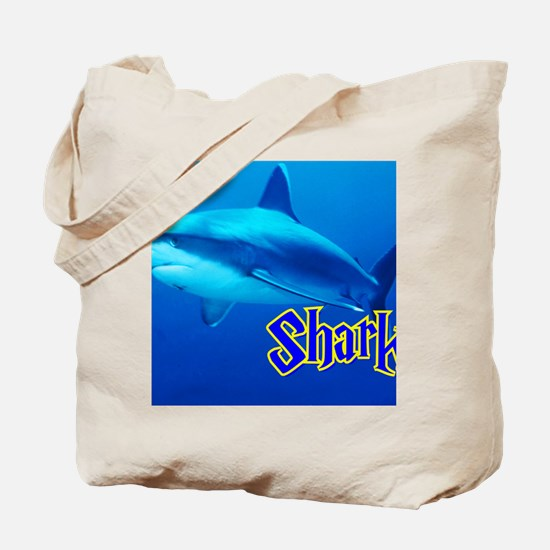 Sharks Wall Calendar Tote Bag