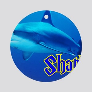 Sharks Wall Calendar Round Ornament