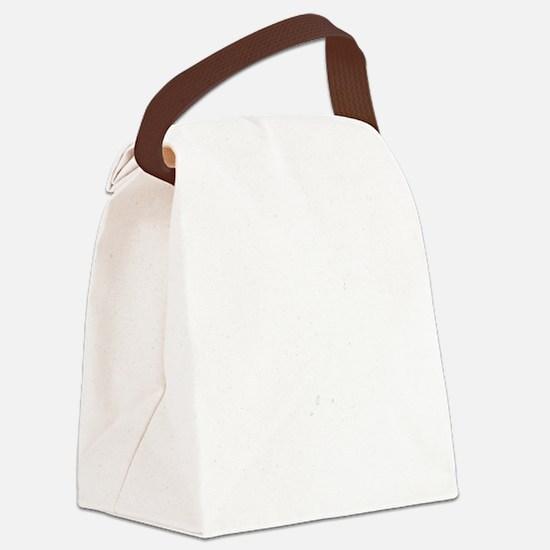 I hear banjos white Canvas Lunch Bag