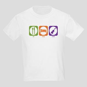 Eat Sleep Violin Kids T-Shirt