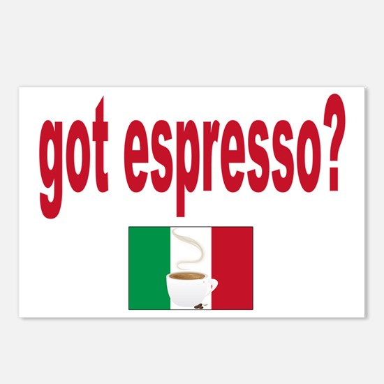 got espresso aa Postcards (Package of 8)