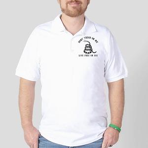DTOM Black Golf Shirt