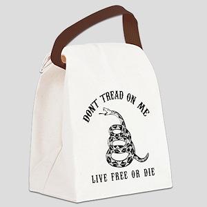 DTOM Black Canvas Lunch Bag