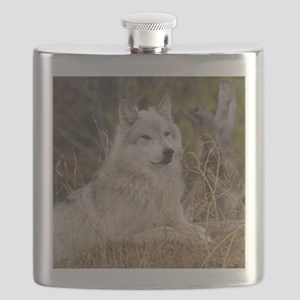 Wolf 10x10 Flask