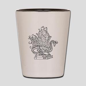 dragon-bks_black Shot Glass