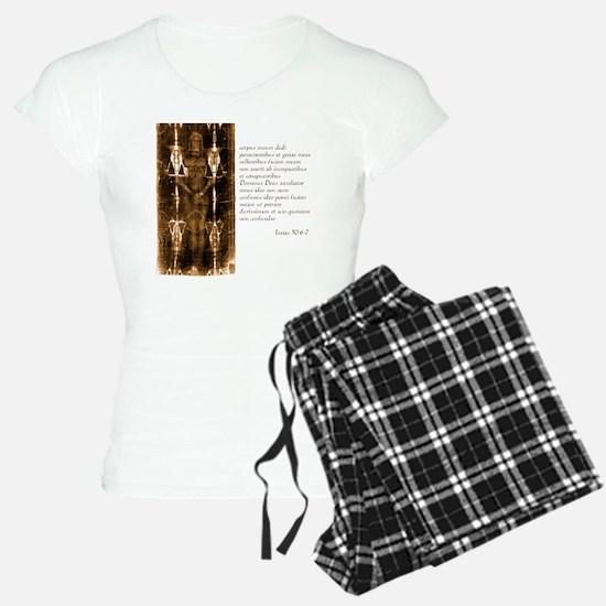 Isaiah 50-6-7 - Latin Pajamas